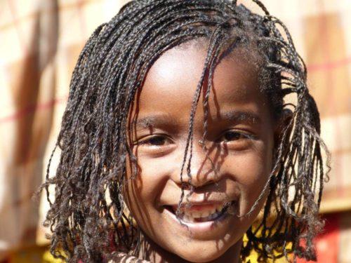 Fillette éthiopienne