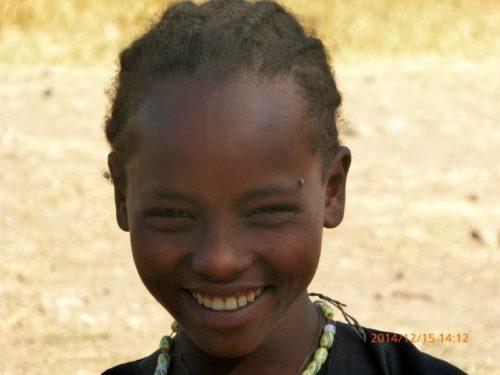 Jeune fille du nord de l'Ethiopie