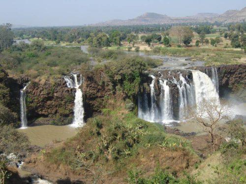 Les chutes du Nil bleu (Tiss Issat en Amharique), Éthiopie