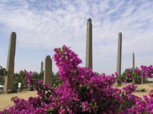 L'allée des stèles et des obélisques à Aksoum, Ethiopie