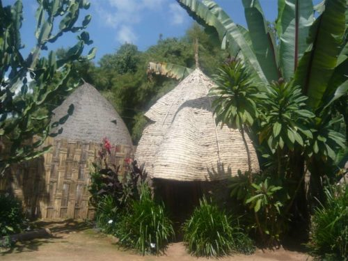 Dorze tribe house in Chencha village, Arba Minch, South Ethiopia
