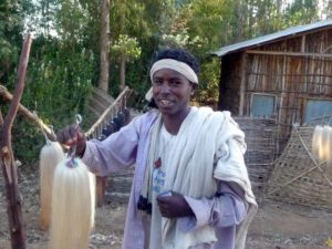 Jeune homme éthiopien