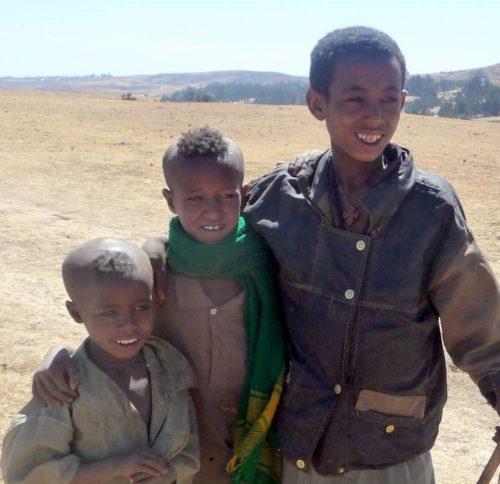 Jeune garçons éthiopiens