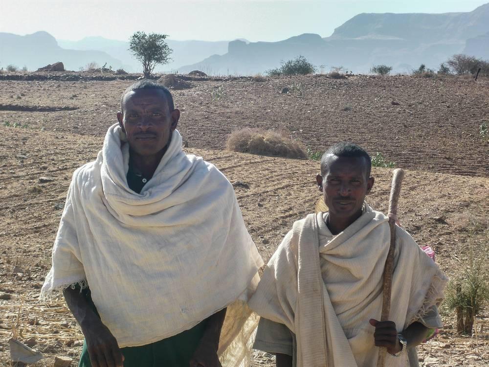 Hommes du Tigré, Éthiopie du Nord