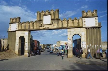 Entrée de la ville de Harar, Ethiopie